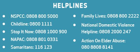 Helplines for web