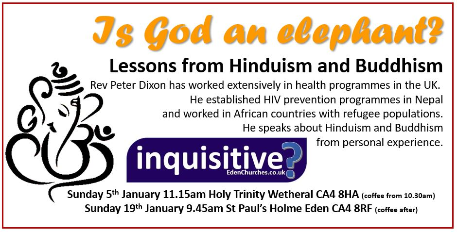 Inqusitive Eastern religions